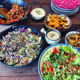 Workshop plant-based lunches
