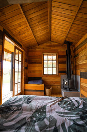 Potting Shed interior - Tanglewood Retreat