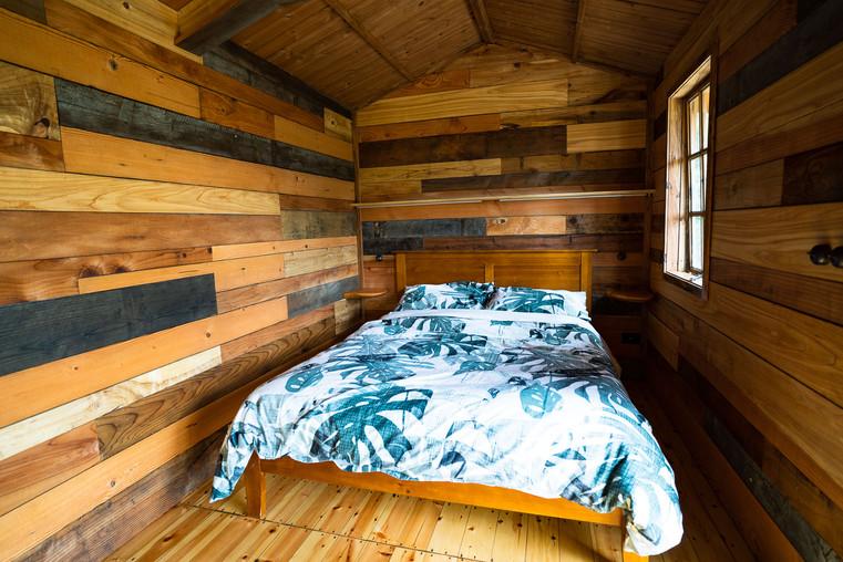 Potting Shed interior - Tanglewood Retreat, Waimauku NZ