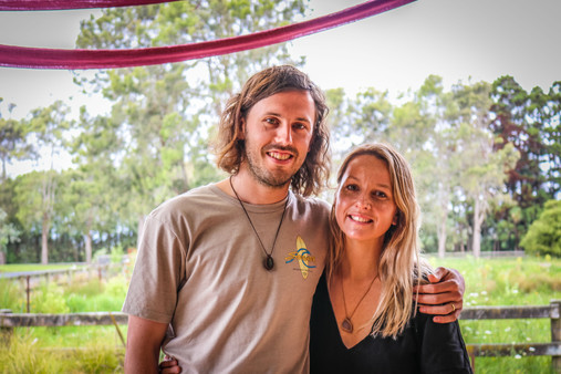 Paige & Daniel some of our beautiful guests