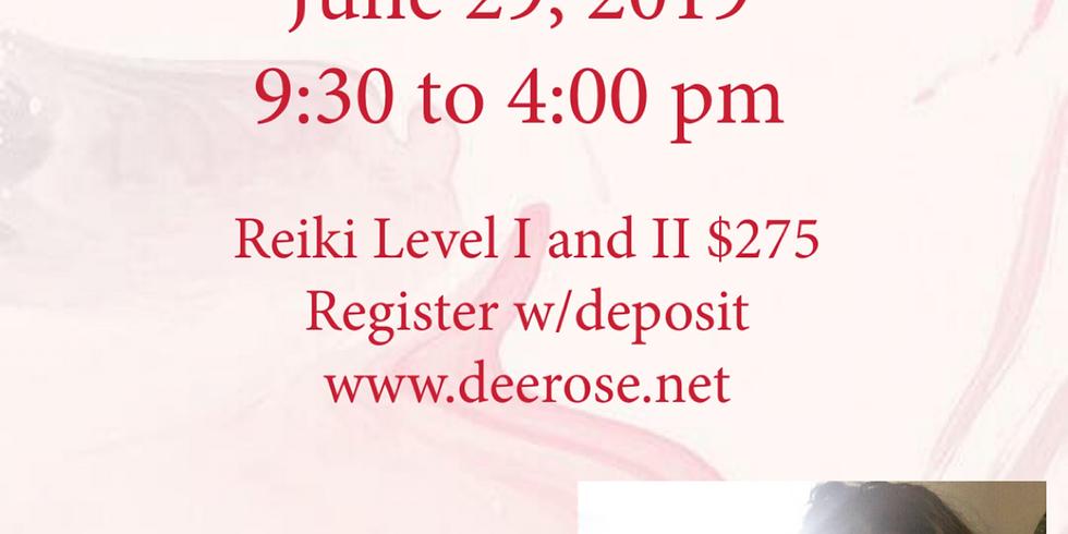 Reiki Level I and II Workshop: $275 Quad Cities