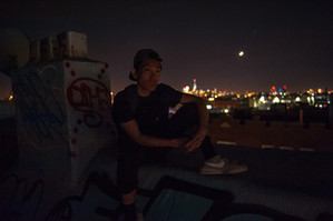 A Moment...  on a Brooklyn Rooftop