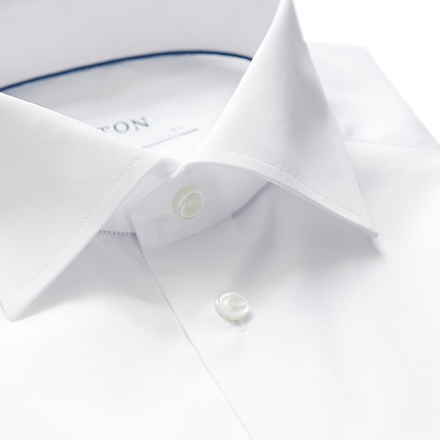 White Poplin Shirt - French Cuff