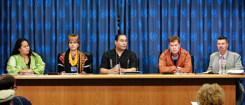Roberto Borrero at UN, 2007. Photo: Mark