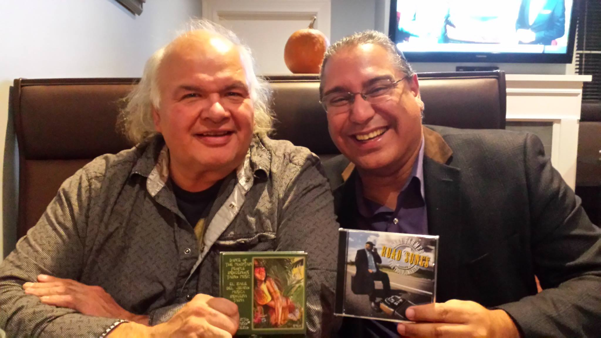 Actor and Singer Gary Farmer and R. Múkaro Borrero