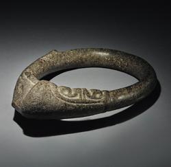 Taino ceremonial stone belt