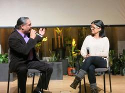 Roberto Borrero interviews Georgina Lightning