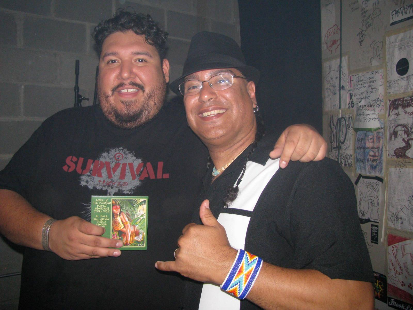 R. Múkaro Borrero and DJ Bear Witness
