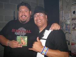 R. Múkaro Borrero and DJ Bear Witness