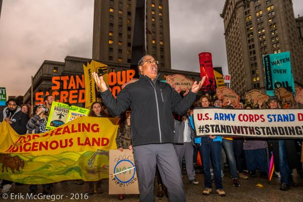Standing Rock Protest in NYC