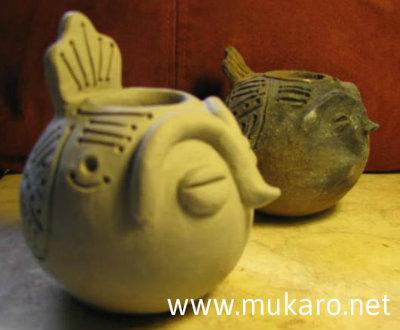 Taíno effigy bowls