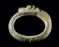 Indigenous Taino ceremonial stone belt