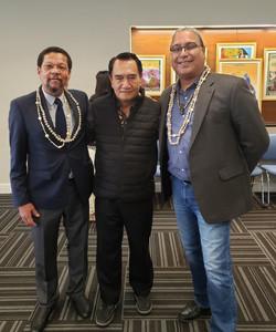 Roberto Borrero, Dr. Carlyle Corbin and Tony Gero