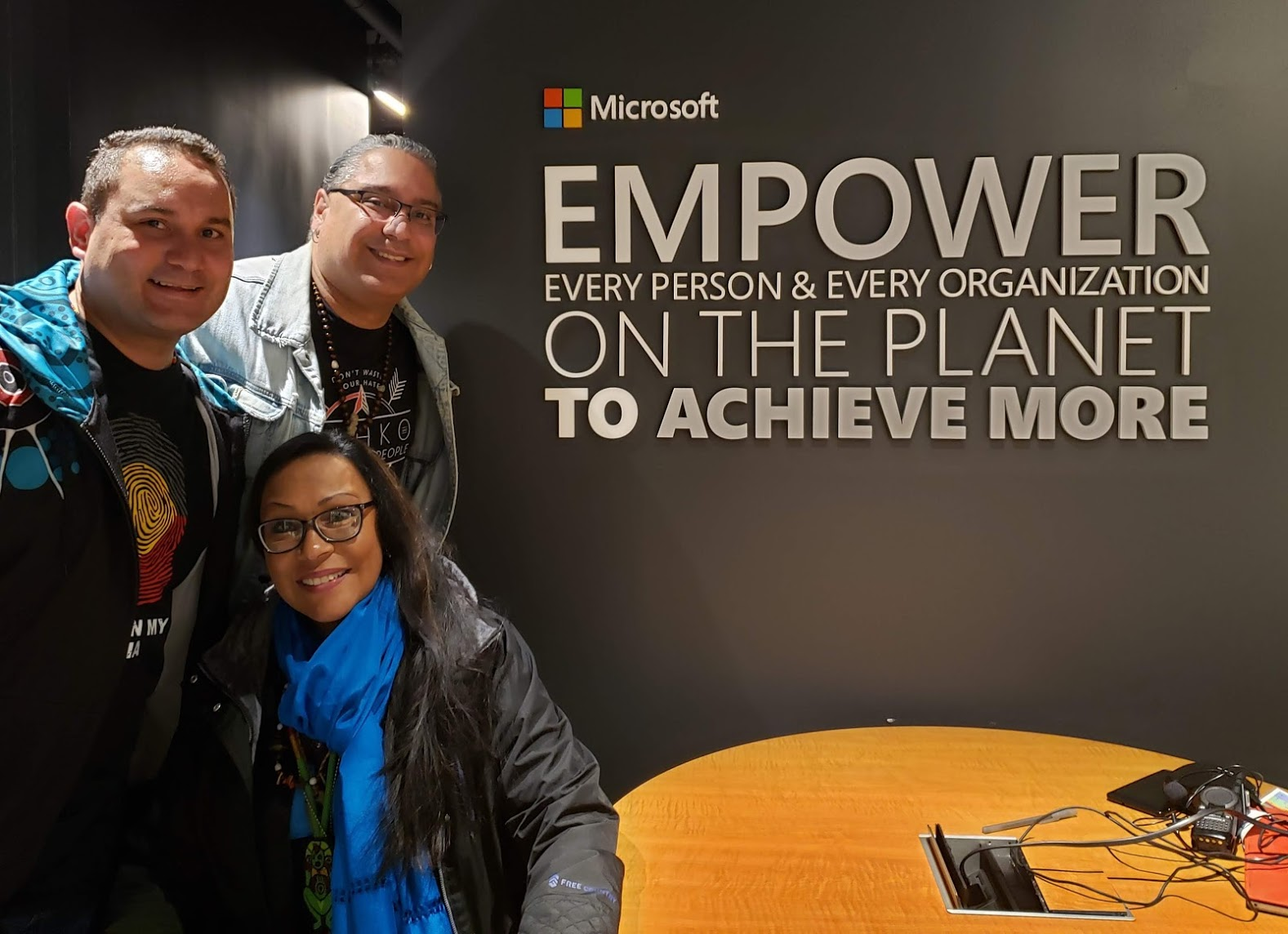 Indigenous Tech Workshop at Microsoft, 2019