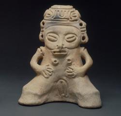 Taino ceramic effigy