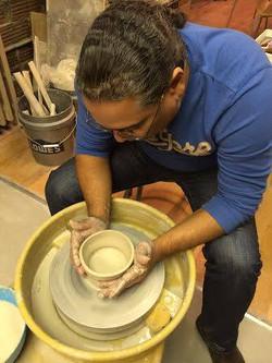 R. Múkaro Borrero at Gather Studio