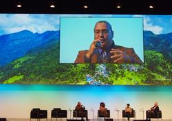 R. Borrero at Global Landscapes Forum in Bonn, Germany, 2017