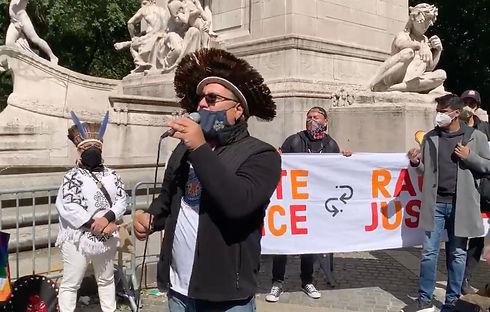 Roberto Mukaro Borrero at Climate Justic
