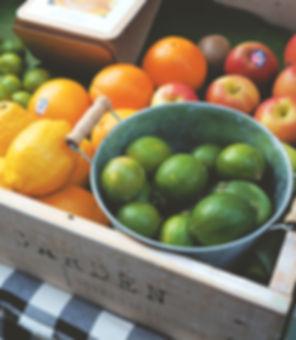 Cajón de la fruta fresca