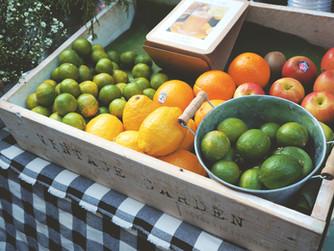 Frutas y verduras para la vida sana