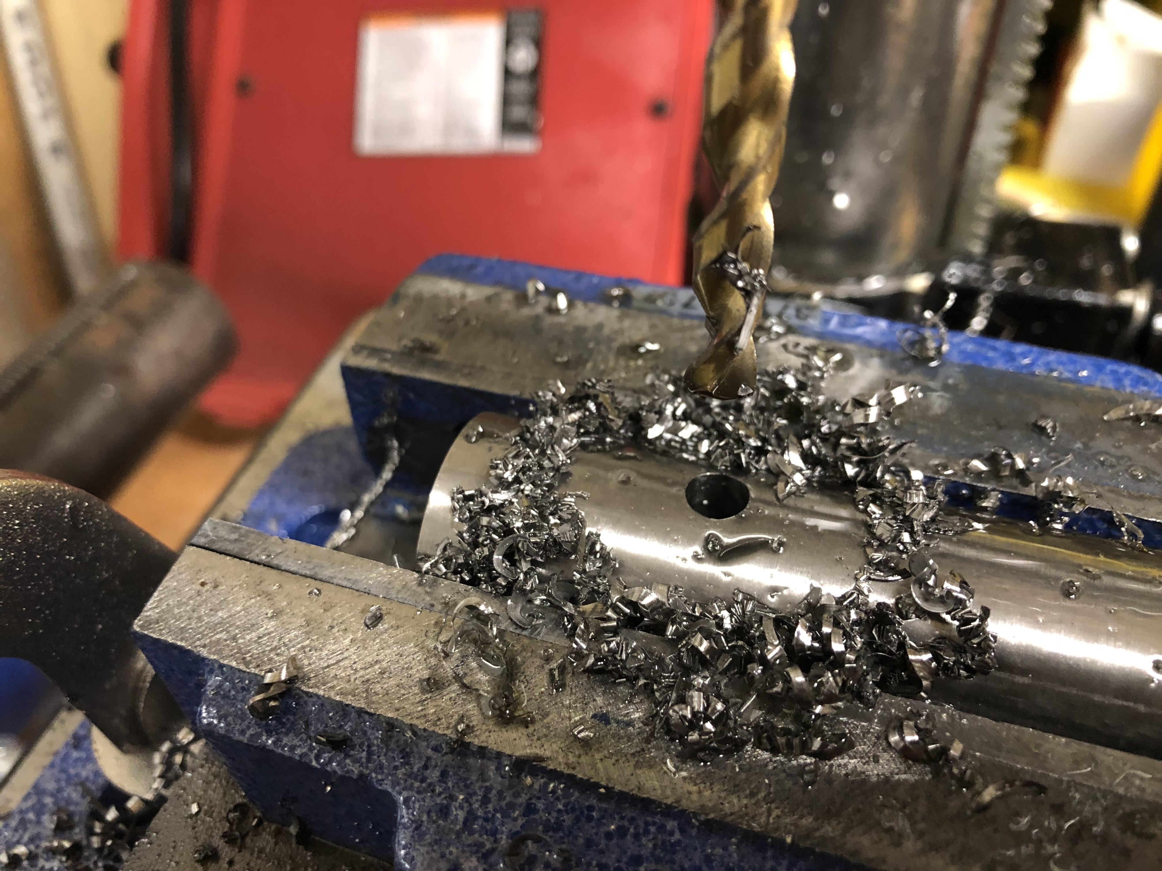 Titanium Shavings