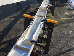 Wing Spars Clamped