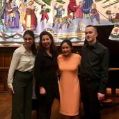 Beatrice, Nita and Austin Perform for Angela Hewitt!