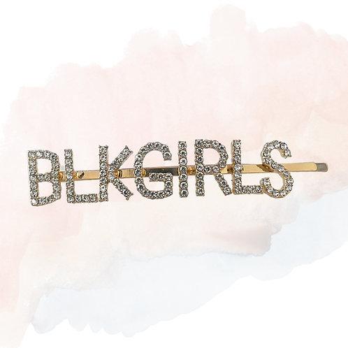 BLK GIRLS Hair Clip