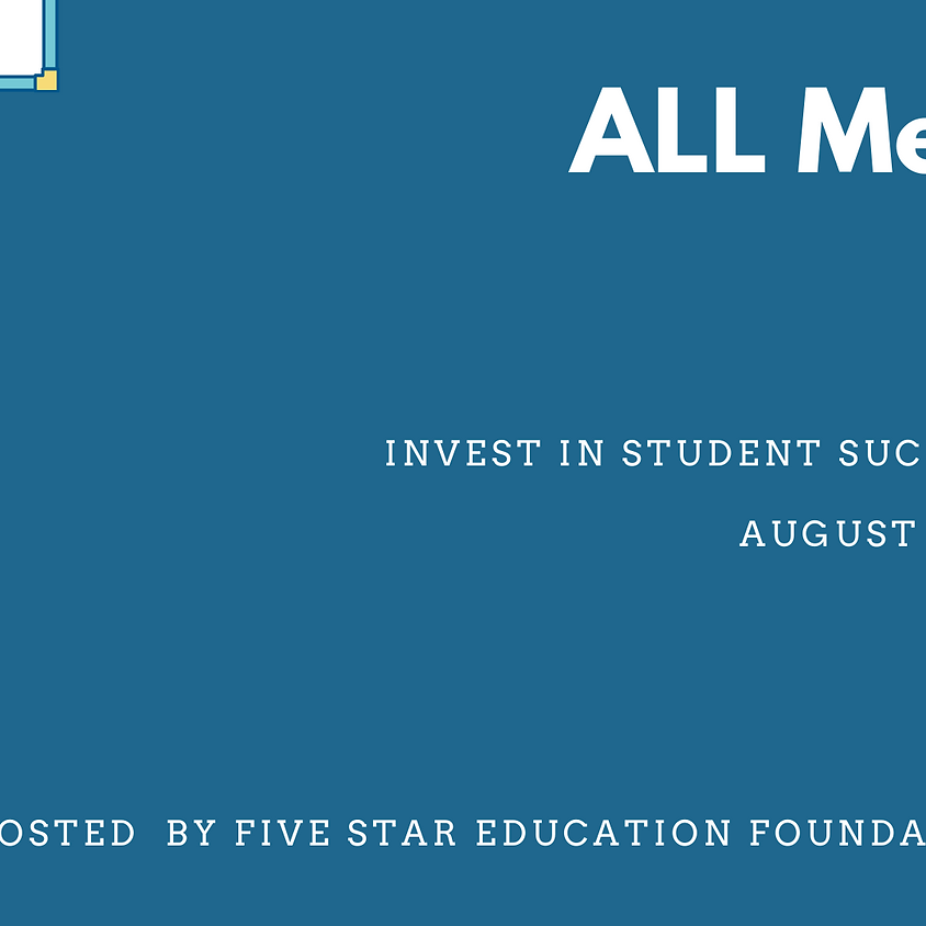 ALL Means ALL Invest in Student Success Week