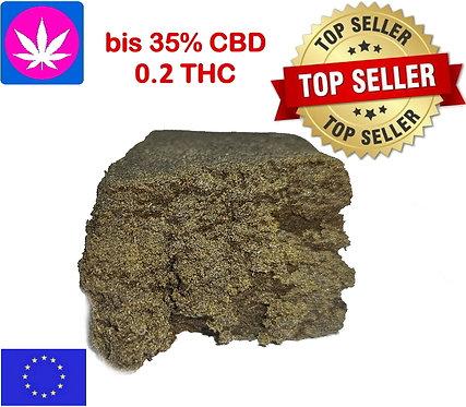 CBD Extrakt Super Dark Caramel ab 10gr. bis 1kg