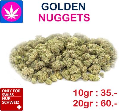 Golden Nuggets CBD Cannabis Blüten  10gr. 35.- & 20gr. 60.-  Sorte wählbar