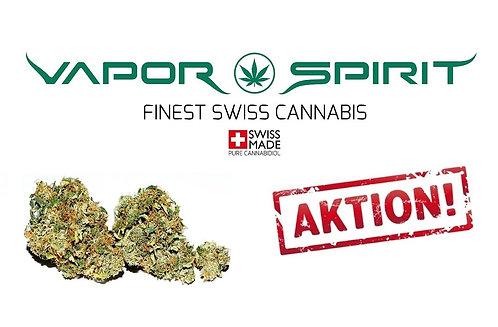 Vapor Spirit Freie Auswahl Aktion. Cannabisblüten helfen gegen Unruhe, Schalfprobleme, Migräne,Schmerzen, Stres