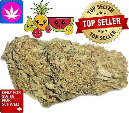 CBD blossoms Fruit Punch, glass house from 8gr. up to 1kg