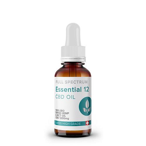 Essential CBD Öl 12% 10ml