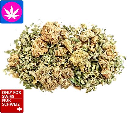 CBD Blüten Mix: 20gr: 30.-,100gr: 110.-,bis 200gr.