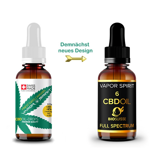 Copy of organic CBD oil + 6% 10ml