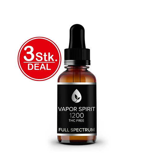 Bio CBD Öl THC FREI +12% 3 Stk.