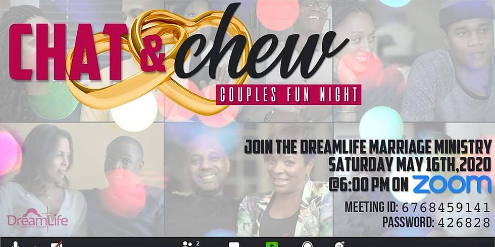 Chat & Chew Couples Virtual Fun Night
