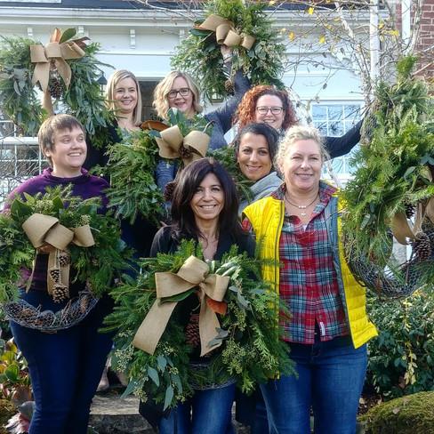lovely wreath workshop