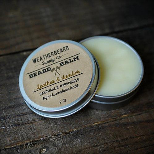 Leather & Lumber Beard Balm