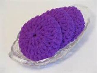 Hand-Crocheted Dish Scrubby