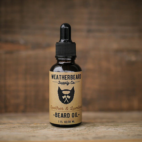 Leather & Lumber Beard Oil
