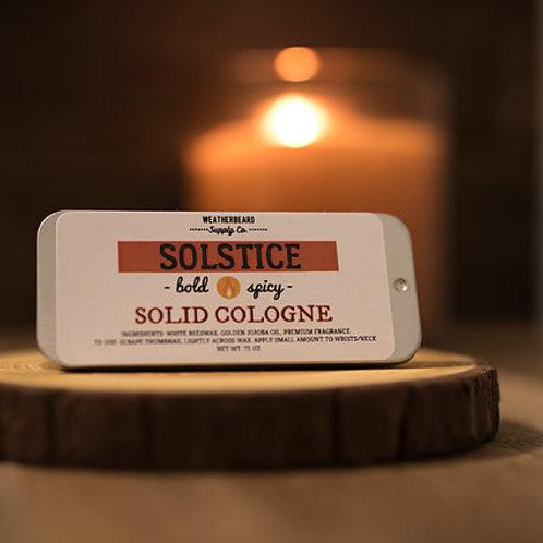 Solstice Solid Cologne