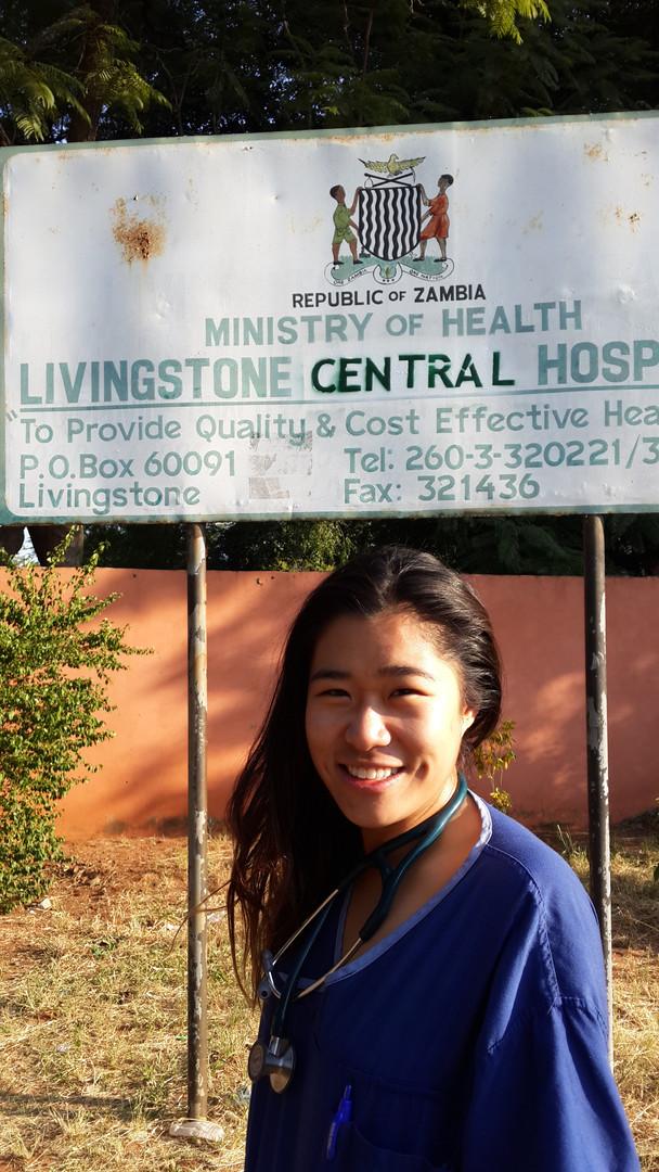 Isabelle Hau - Zambia - Livingstone Cent