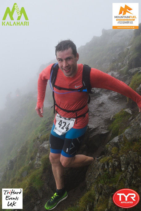 Race report on Helvellyn from Head Coach Ben