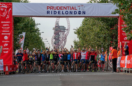 Prudential Ride London: 100 miles across London and Surrey with 25,000 other cyclists!