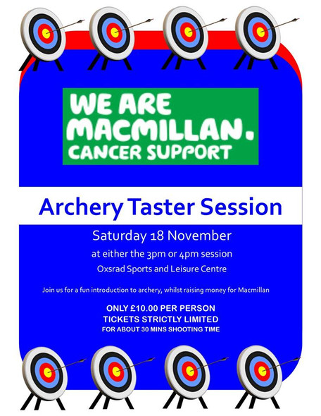 Christmas is coming, and an archery taster lesson