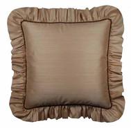 Gathered Ruffle Pillow