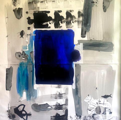 5. Metileno Urdin (160 x 100 cm)