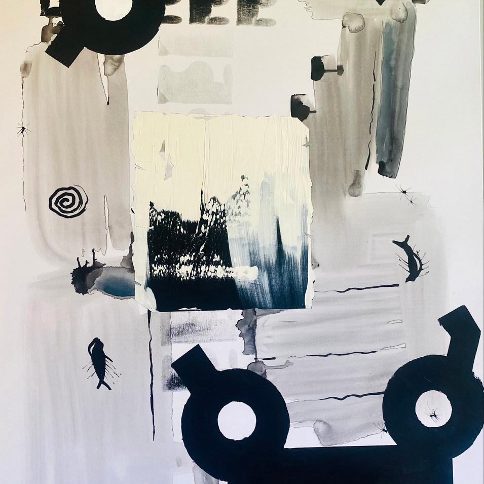 7.Untitled ( 150 x 100 cm )